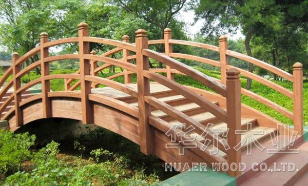 大连木制品制作 防腐木制作  木桥