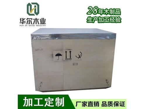 机械木箱包装
